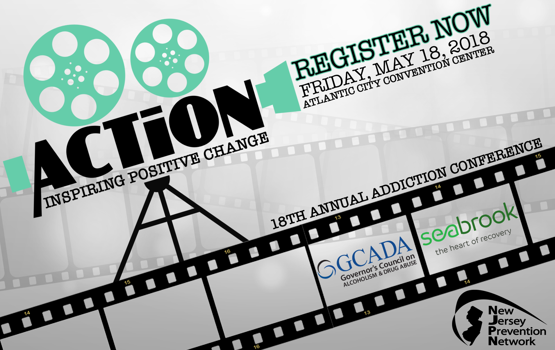 18th Annual Addiction Conference Registration Form Logo